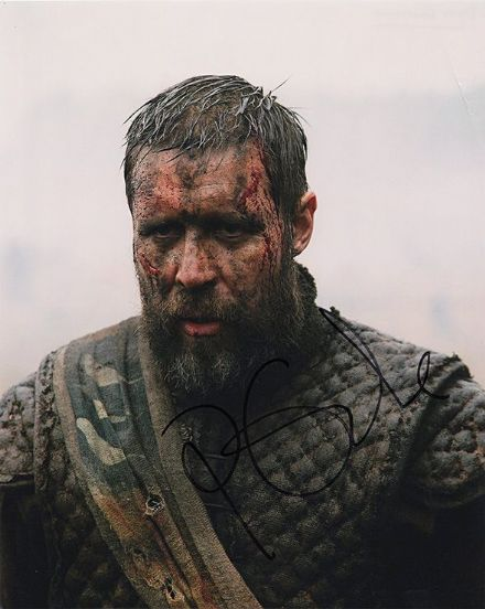 Paddy Considine, signed 10x8 inch photo.